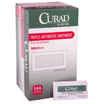 Ointment, Triple Antibiotic, Curad, 0.9g