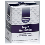 Triple Antibiotic Ointment, 1/32oz, 0.9gm Packet 144/bx *Discontinued*