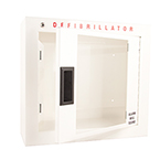 AED Cabinet, Basic, 16½ inch W x 15inch H x 6inch D, 6.0kg, for Heart-Start FRx Defibrillator
