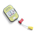 Training Pads II Cartridge, Adult, for Heart-Start FRx Defibrillator