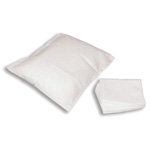 Curaplex Pillow Cases, Tissue/Poly, 21in x 30in