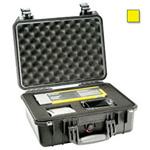 Pelican® 1450 Case, w/Pick N Pluck Foam, Yellow