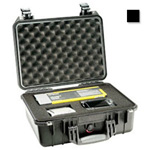 Pelican 1450 Case, 14.62inch x 10.18inch x 6.00inch, Black w/Pick N Pluck Foam