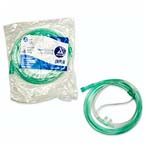 O2 Nasal Cannula, Standard, Over-the-Ear, Non-Flared, Adult