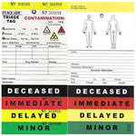 Evacu-Aid Triage Tags