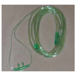 O2 Nasal Cannula, Straight, Non-Flare, Adult, 7-ft Tubing