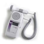 LifeDop 250 Hand-Held Doppler, w/ 4 MHz V Probe