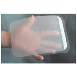 Wound Seal Kit, 6in x 8in Plastic Sealing Square with Hydrogel Adhesive, with Cotton Sponge