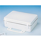 First Aid Kit Box, Empty, White, 10inch x 7inch x 3inch
