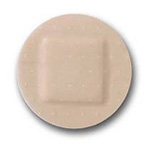 Adhesive Bandages, Sheer Plastic, Spot, 1inch
