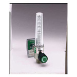 Soft-Touch Timeter Oxygen Flowmeter, 15 LPM, Ohmeda Male