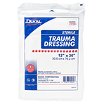 Trauma Dressing, Sterile, Multi-purpose, 12inch x 30inch