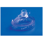 Rusch Cushion Face Mask w/Valve, Clear Ring, Size 2, Pediatric