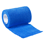 Curaplex Cohesive Bandage, Blue, 1inch