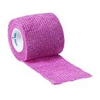 Curaplex Cohesive Bandage, Pink, 2inch