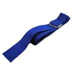 Strap, 1 Piece w/ D Rings, Polypropylene, Blue, 15 feet