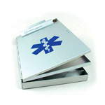 Posse Box Clipboard, Side Opening, w/ Star of Life