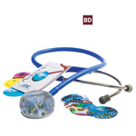 Adscope 655 Amplifying Stethoscope, Burgundy
