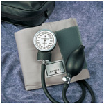 Prosphyg 770, incl Black Enamel Gauge, Size 11 Adult, Gray, Zippered Carrying Case, Latex