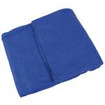Curaplex Blanket, Fleece, 60inch x 90inch, Navy Blue