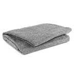 Curaplex Blanket, Fleece, 60inch x 90inch, Gray