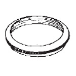 Diaphragm Retaining Ring, for Adscope 641 Adult Sprague Stethoscopes