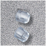 Stethoscope Ear Tips, for Adscope 641 and 645 Stethoscopes, Clear, Soft, Standard