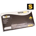 Curaplex Tritongrip TE Black Nitrile Exam Gloves, Small *Discontinued*