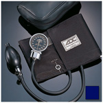 Diagnostix 700 Series BP Unit, Chrome-Plated Gauge, Size 11 Adult, Navy Blue
