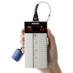 Nonin Pulse 8500 Series Oximeter, w/Memory Articulated Sensor, Handheld, LED Display, UL Listed