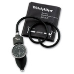 Tycos Classic Hand Aneroid w/One-Piece Adult Cuff, Bladderless, Zippered Case *Discontinued*