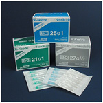 BD Precisionglide Conventional Needles, 27G X 1/2inch
