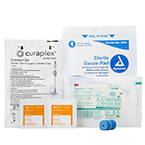IV Start Kit, Tegaderm IV Dressing, Alcohol Prep Pads, 4 by 4 Gauze Sponge, Tourniquet, Extension Set