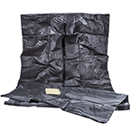 Curaplex Body Bag, Heavy Duty, Black, 42inch x 90inch, 84inch Girth*Discontinued*