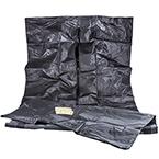 Curaplex Body Bag, Heavy Duty, Black, 42inch x 90inch, 84inch Girth