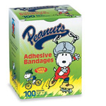 Children's Adhesive Bandages, Peanuts Snoopy *Discontinued*
