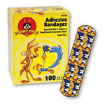 Children's Adhesive Bandages, Wile E. Coyote and Road Runner