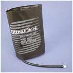 UltraCheck Blood Pressure Cuff, Zoll/GE, Double Tube, MQ Fitting, Reusable, Thigh