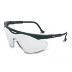 Uvex Skyper Safety Glasses, Black Frame / Clear Lense