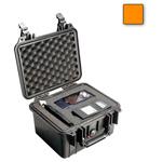 Pelican 1300 Case, w/ Foam, Orange