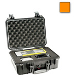 Pelican 1450 Case, w/ Foam, Orange