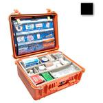 Pelican 1550EMS Case, 18.43inch x 14.00inch x 7.62inch, Black w/EMS Organizer/Dividers
