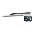 Laryngoscope Blade, LED, Disposable, Stainless Steel, Miller, 1 Infant