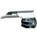 Laryngoscope Blade, LED, Disposable, Stainless Steel, Miller, 00 Premature