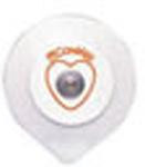 Positrace ECG Electrode, w/Diaphoretic Foam Conductive Adhesive Gel, Adult, 30/pk