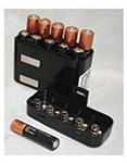 Battery Holder Cartridge, for Quickdraw Suction Unit, Holds 10 AAA Batteries