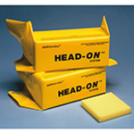Head-On System Head Immobilizer, Foam Filled, Lightweight, incl 2 Dispos-O Bags and 1 Occipital Pad
