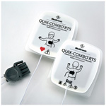 Physio Control Edge System Quik Combo Electrodes, Pediatric