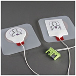 Pedi-padz II Electrodes, for AED Plus/AED Pro, Pediatric