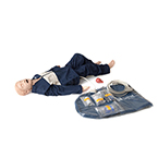 Megacode Kid Manikin Advanced, SimPad Capabilities Only - Sold Separately, w/Carry Case